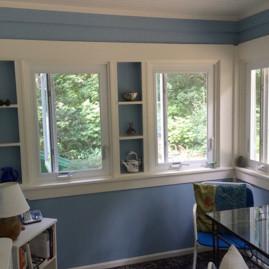 Porch, Blue, Color (Wellesley, MA)