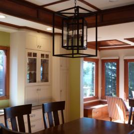 Dining Room and Sun Room, Color & Design (Berkeley, CA)