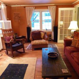Living Room Color – Rich Pumpkin (Wellesley, MA)