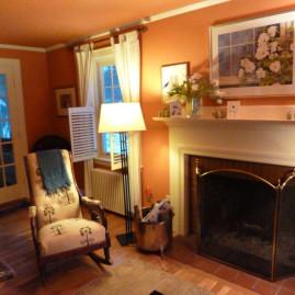 Living Room Color, Pumpkin (Wellesley, MA)
