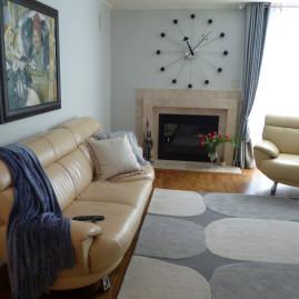 Living Room, Blue-Grey (San Francisco)