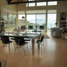 Living Room, Dining Room Design (Pt. Richmond, CA)
